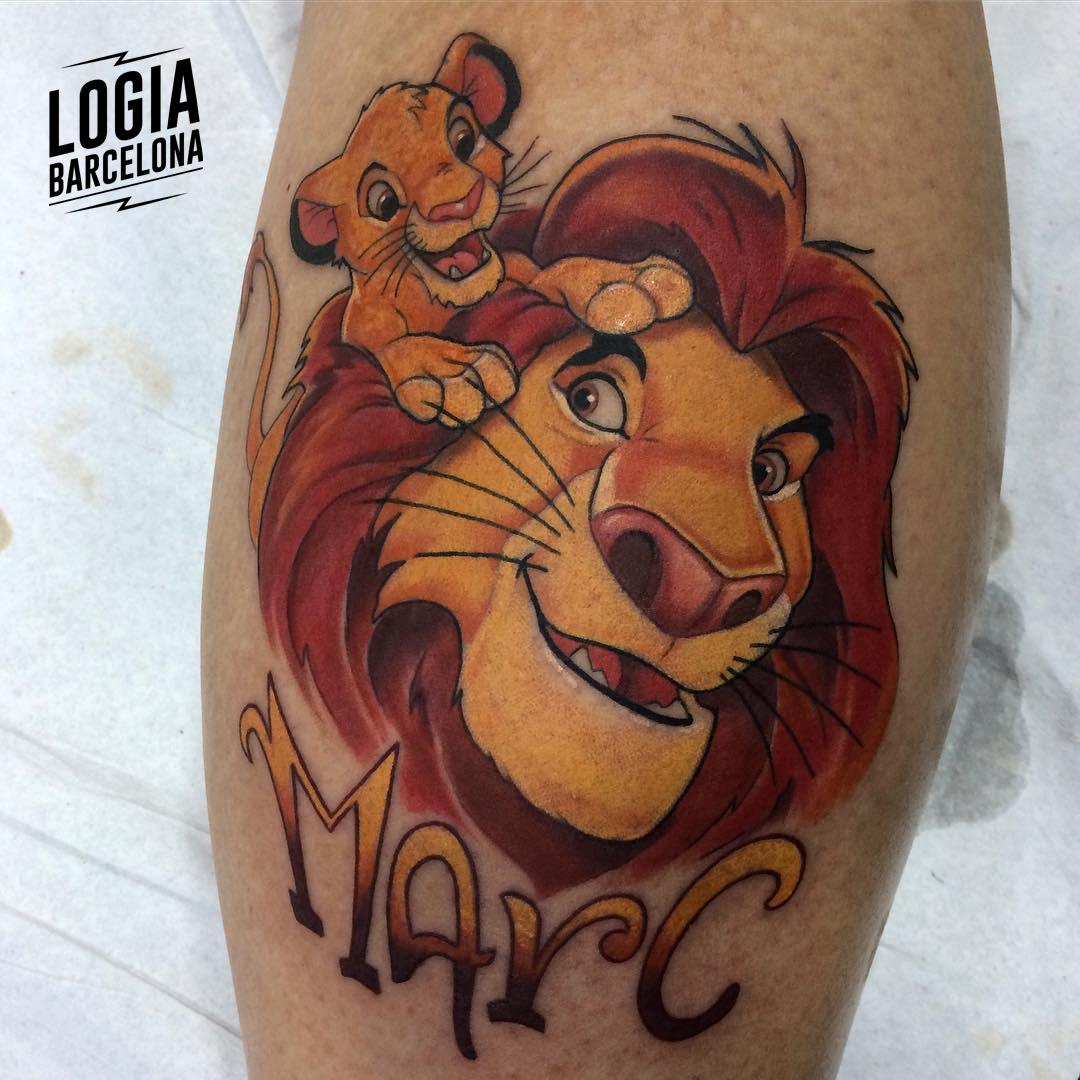 tatuajes con nombres de disney