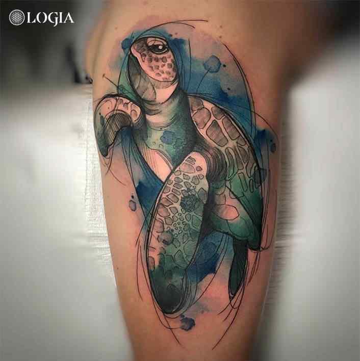 Ideas de tatuajes de tortugas
