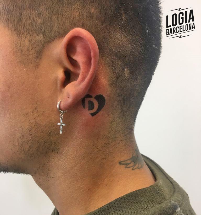 Tatuajes con Iniciales Juanma Zoombie Logia Barcelona