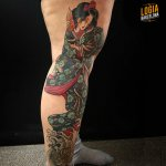Tatuajes de geishas 2019