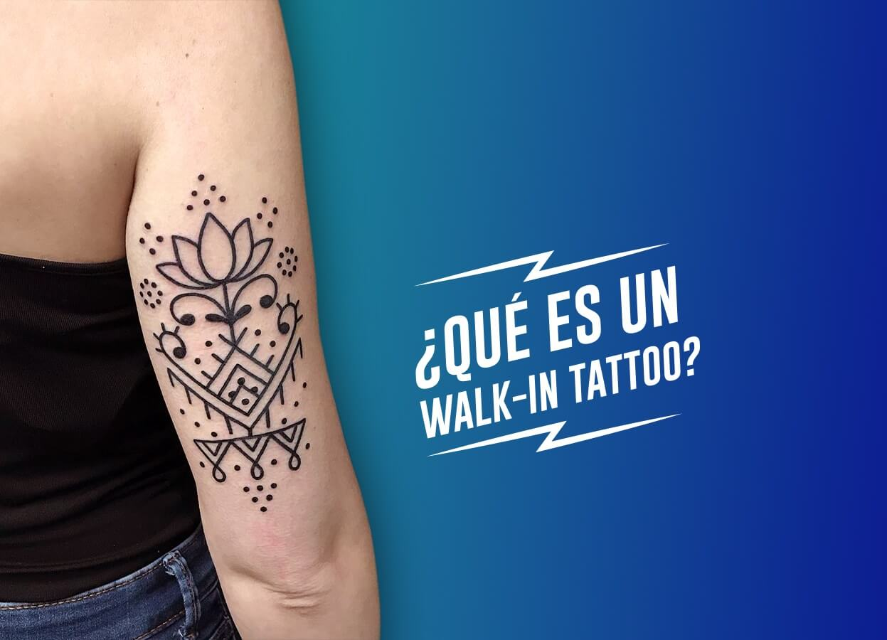 Walk in tattoo Barcelona