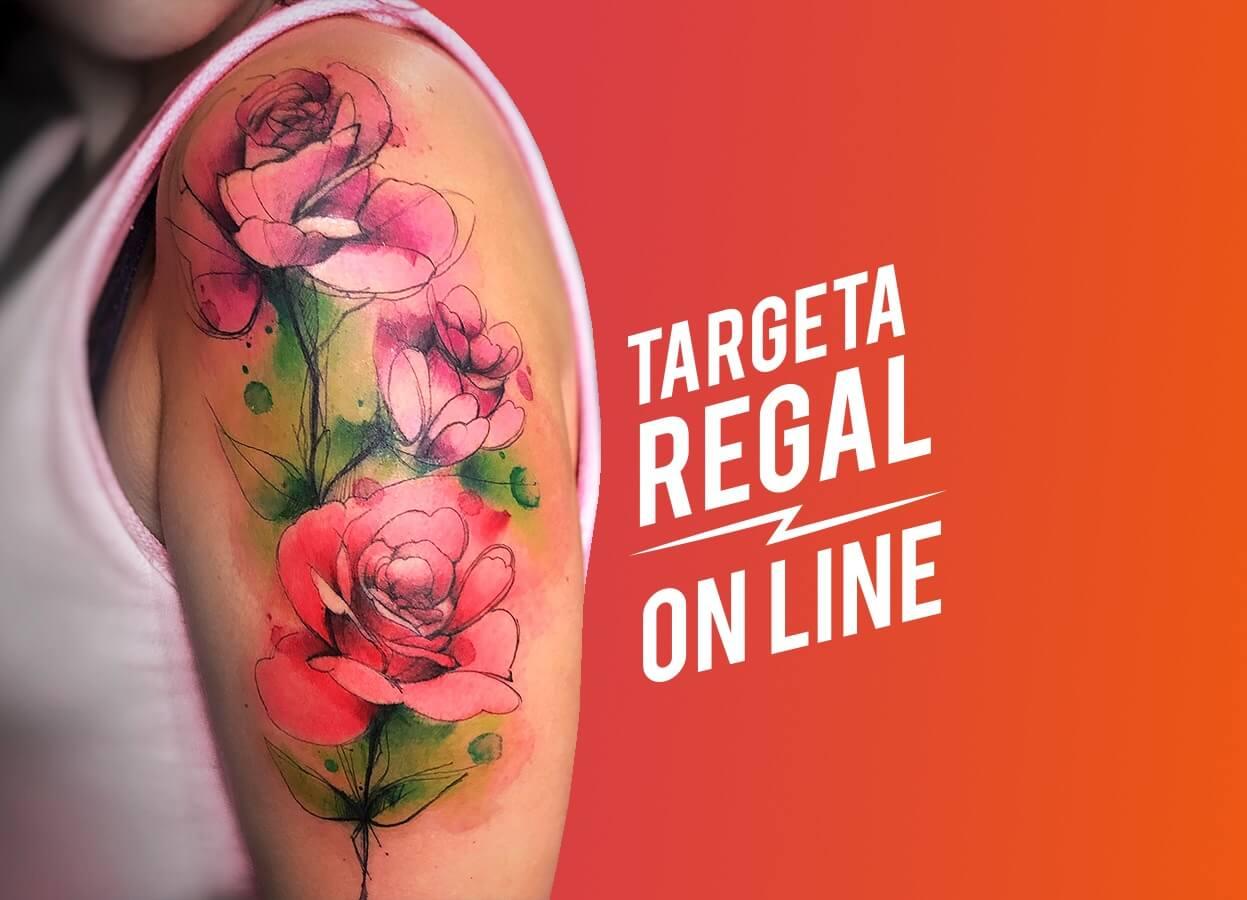 Targeta regal tatuatge