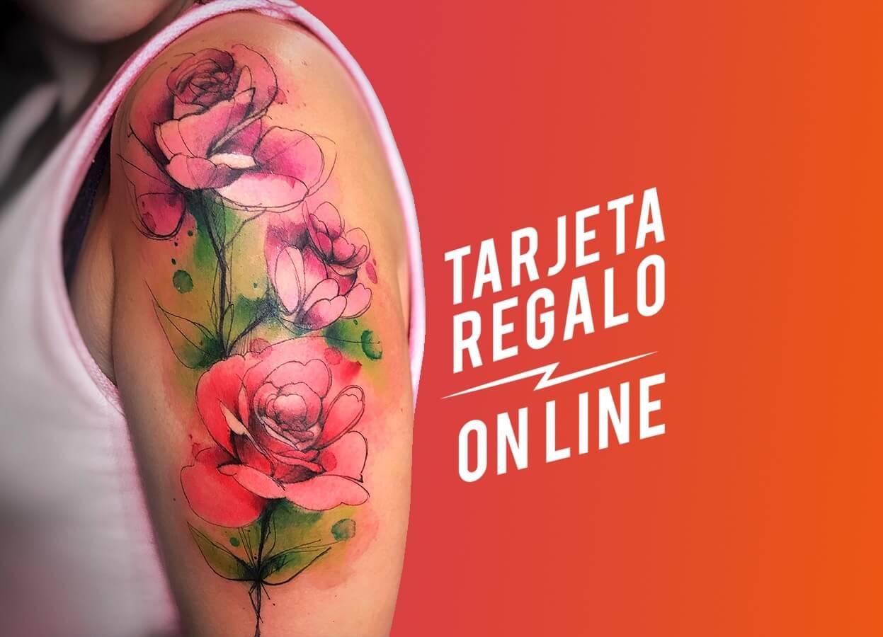 Tarjeta regalo tatuaje