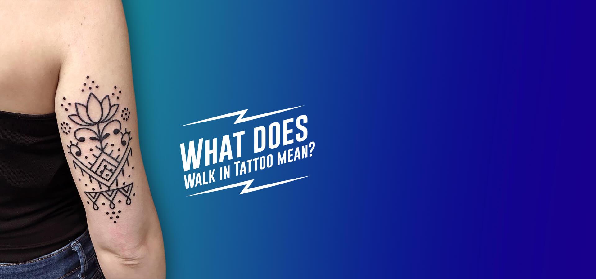 Walk in tattoo Barcelona