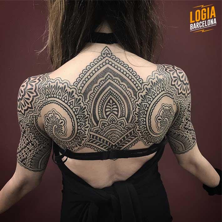 Significado de los tatuajes de mandalas
