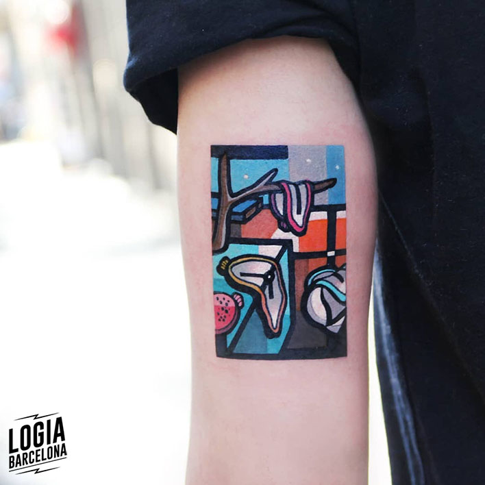 tattoo de barcelona Dali