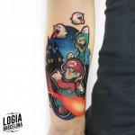 Tatuajes Mario Bros