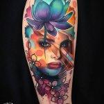 Los tatuajes a color más espectaculares
