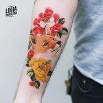 Tatuajes de zorros