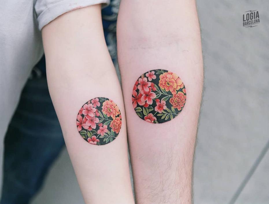tatuaje union parejas Sion Logia Barcelona