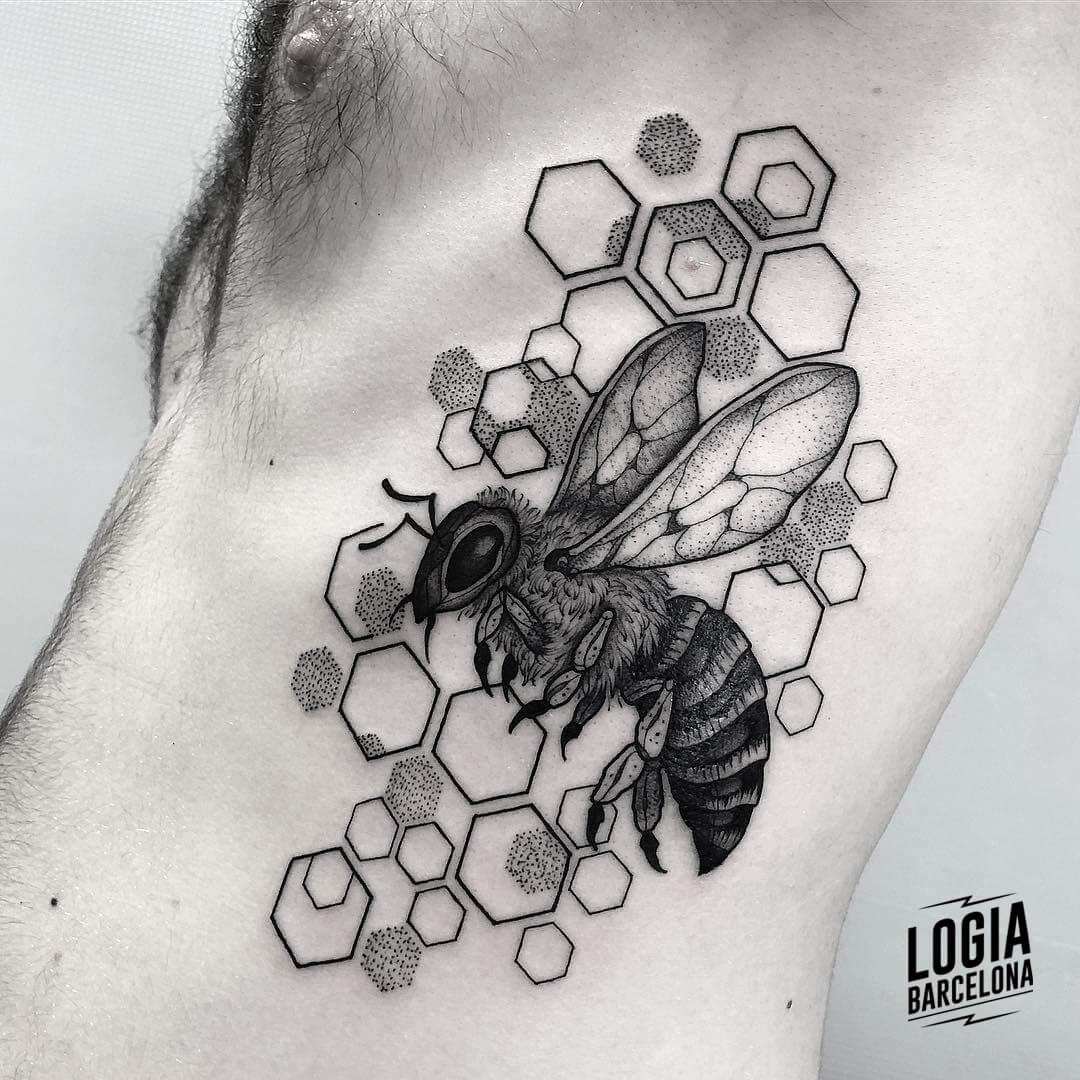 Tatuajes de abejas