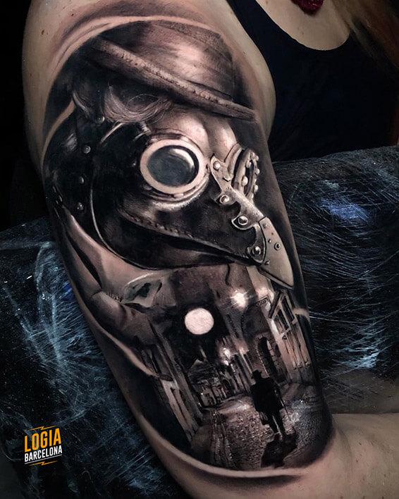 tinta blanca tattoo doctor
