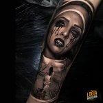 Tatuaje lágrima
