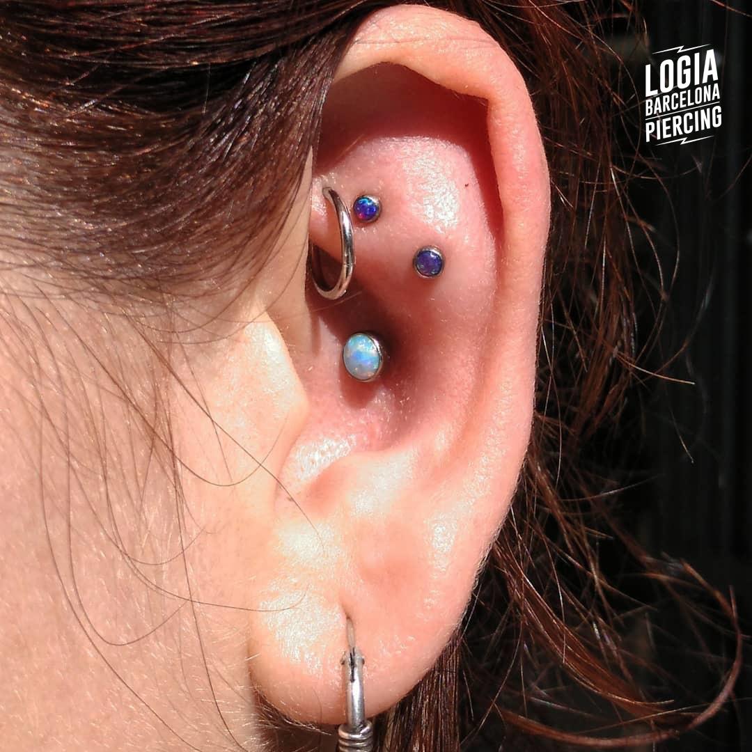 piercing rook Logia Barcelona