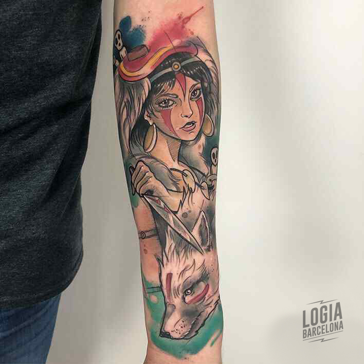Mononoke Tattoo