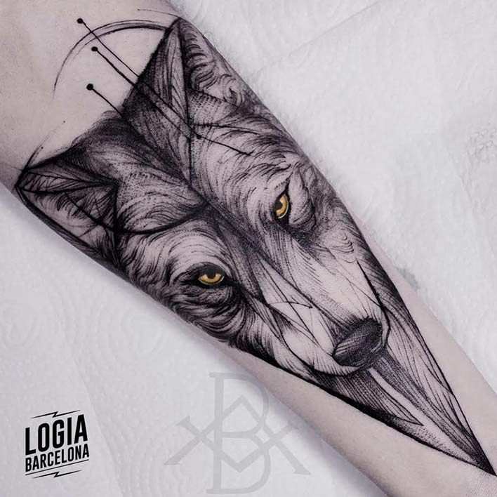 tatuajes nordicos skoll y hati