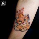 Tatuajes de Simba