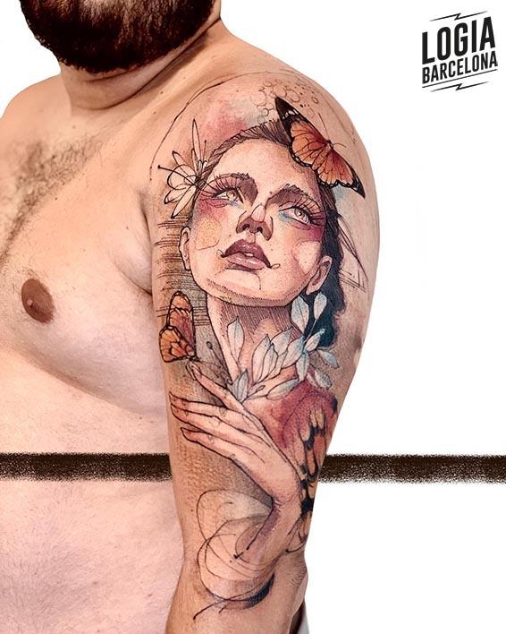 tatuajes cambios mariposas logia barcelona