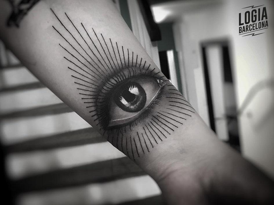 all seeing eye of god tattoo