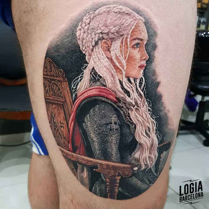 tatuajes juego de tronos daenerys