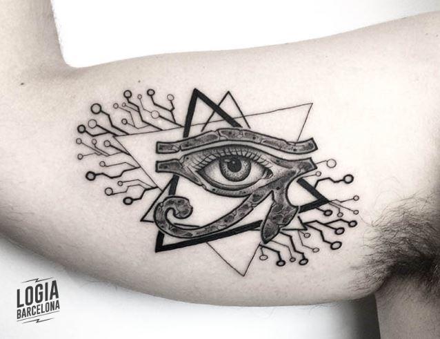 eye of horus tattoo, all seeing eye tattoo