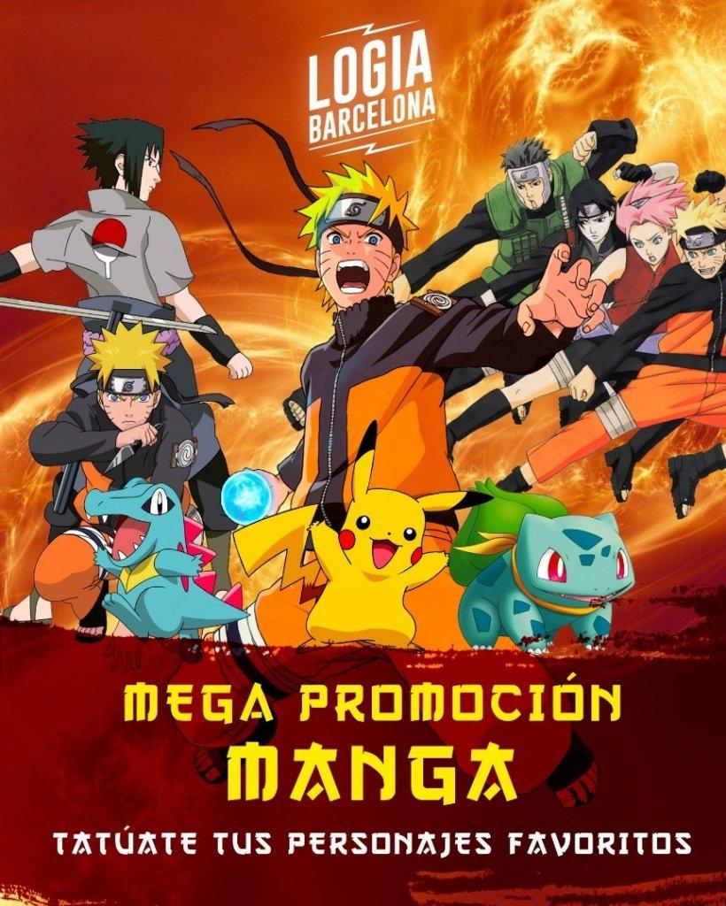Promo Tatuajes Cartoon Manga Disney - Logia Barcelona