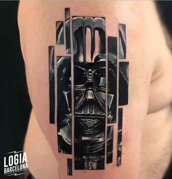 Star Wars Tattoo - Tatuaje Darth Vader - Logia Barcelona Giulia del Bianco