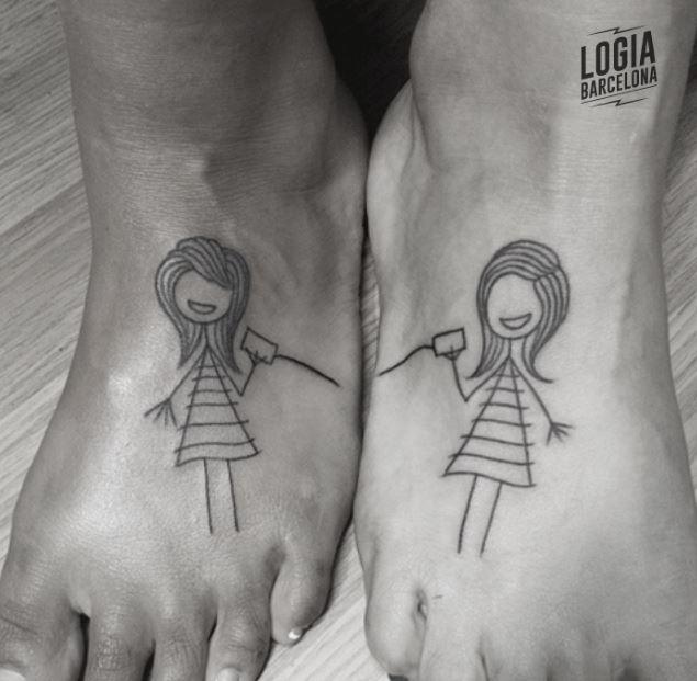 Tatuajes de muñecas tatuajes para parejas - Logia Barcelona