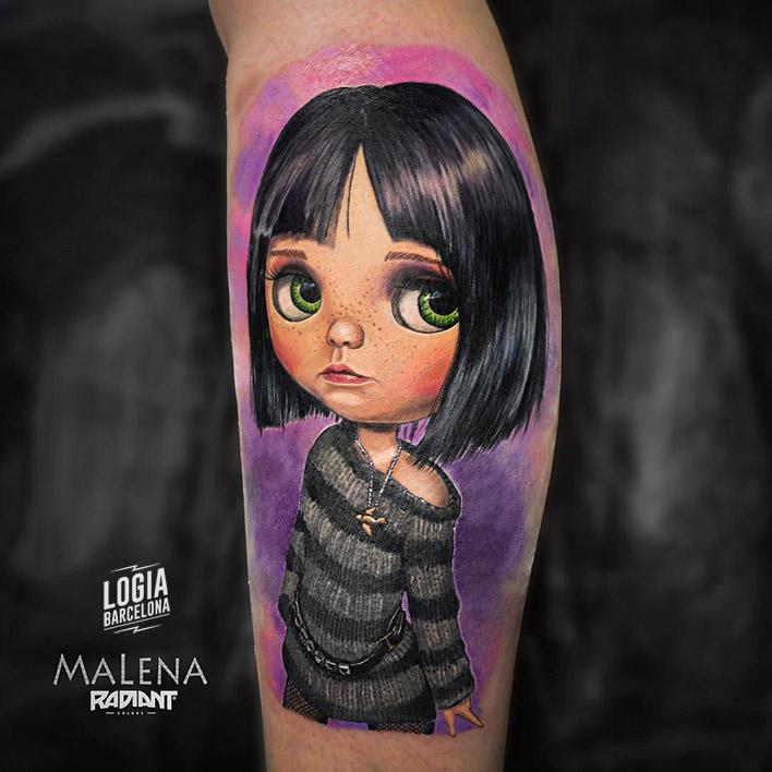 tatuaje_brazo_dolls_01_malena_logia_barcelona