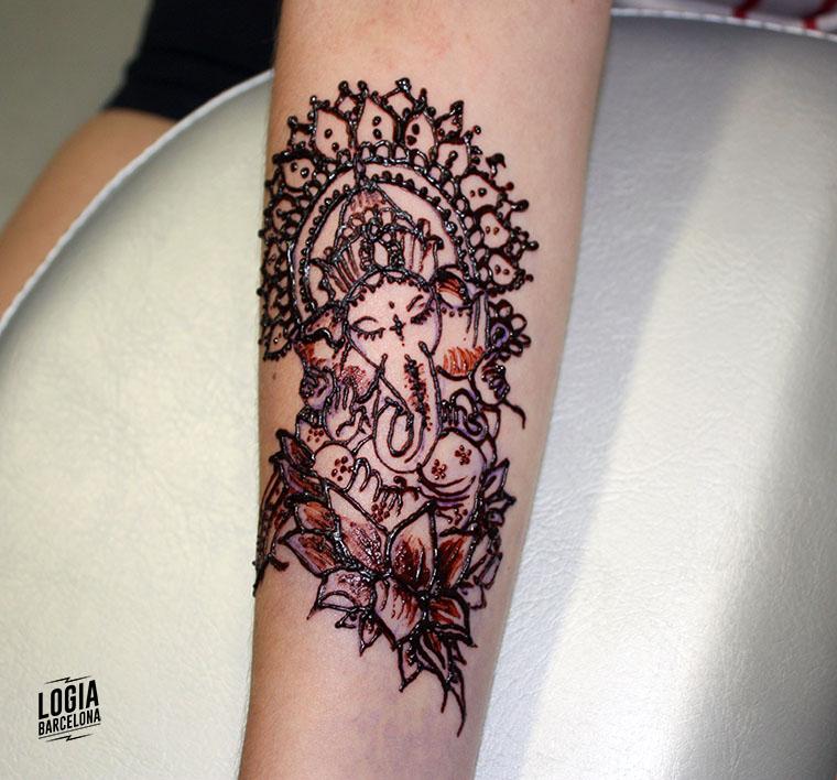 tatuajes temporales - tatuajes de henna