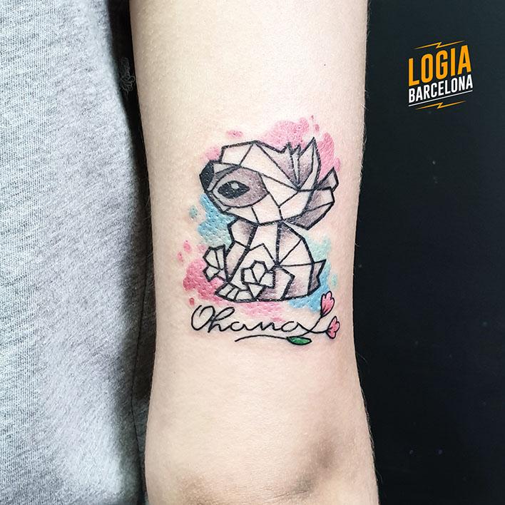 Tatuajes de Stitch