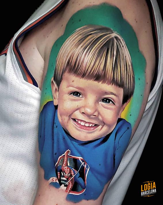 Tatuaje Smile