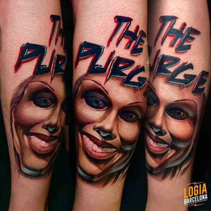 tatuaje smile miedo