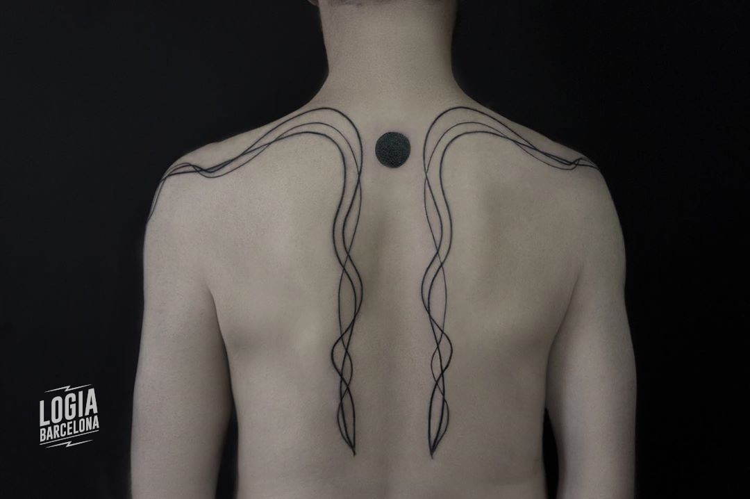 tatuajes raros lineart