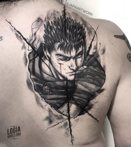 dark work tattoo - manga - Logia Barcelona