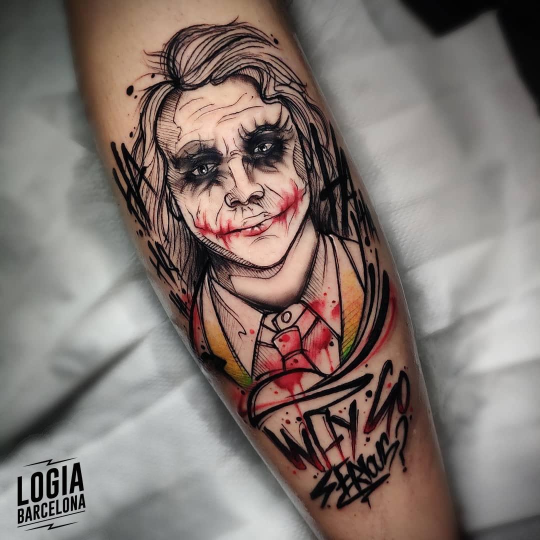 Tattoo Joker Blanco Y Negro - Best Tattoo Ideas