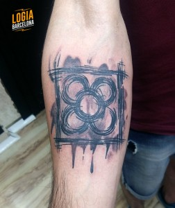 Walkin tatuaje panot - Logia Barcelona