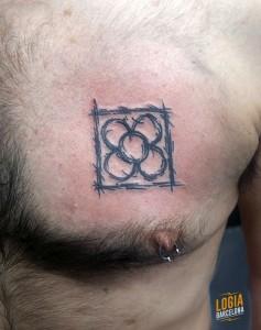 Tatuaje walking panot Barcelona - Logia Barcelona