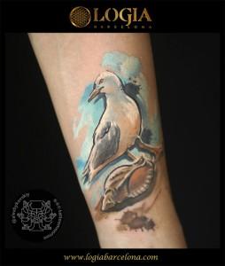 tatuaje-brazo-gaviota-logiabarcelona-alexei-w