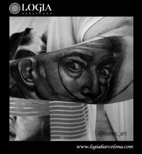 tatuaje-Dali-brazo-logia-barcelona-andilla