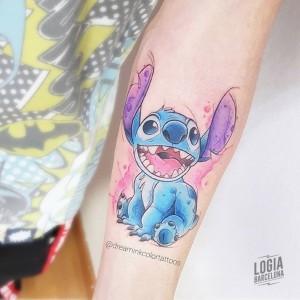 tatuaje_brazo_stitch_dreamink_logia_barcelona
