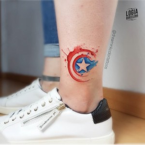 tatuaje_logo_capitan_america_gamer_dreamink_logia_barcelona