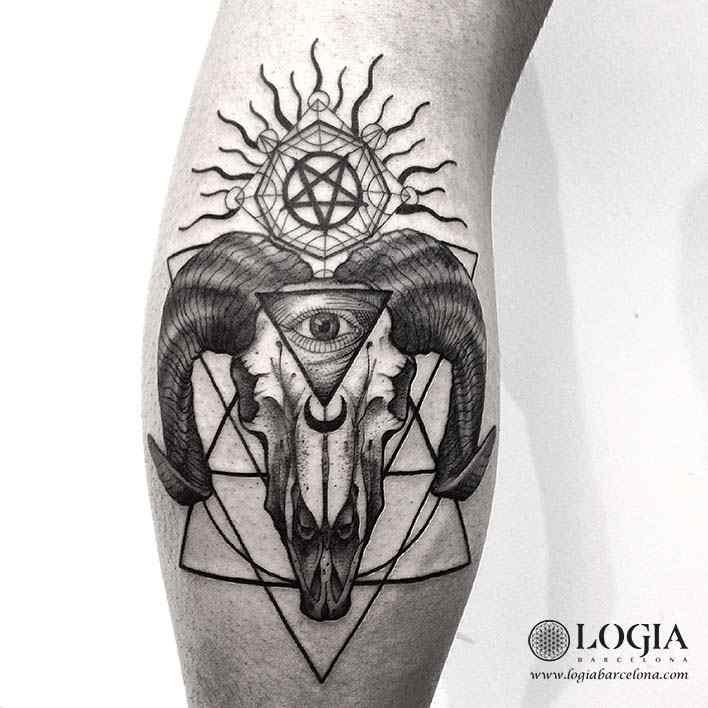 tatuaje-brazo-satanico-logiabarcelona-franki