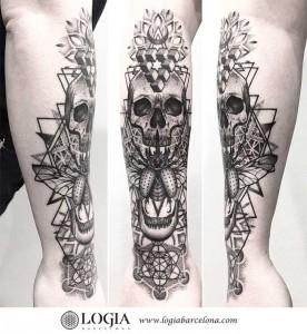 tatuaje-brazo-calavera-metatron-logiabarcelona-franki