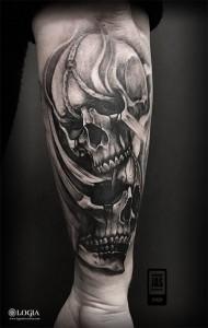 Tatuador Javier Jas Logia Tattoo