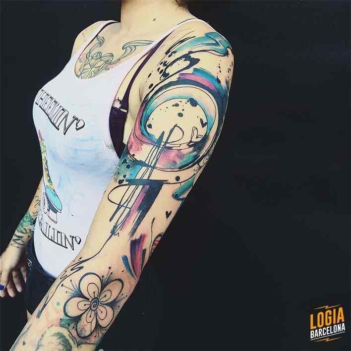 tatuajes raros boceto