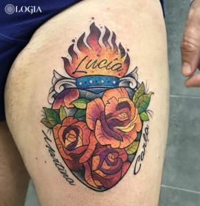 tatuaje-pierna-rosas-watercolor-logia-barcelona-kathycaboom