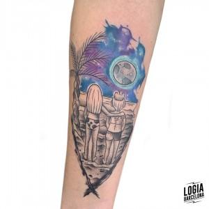 tatuaje_amigas_mar_luna_brazo_logiabarcelona_kathycaboom
