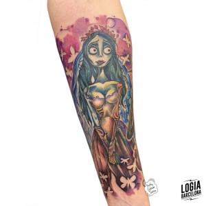 tatuaje_pesadilla_antes_de_navidad_brazo_logiabarcelona_kathycaboom