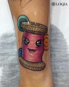 tattoo-brazo-bobina-logiabarcelona-lauristica